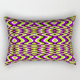 Grn & Prpl Vzzn Rectangular Pillow