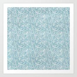 lighting pattern Art Print