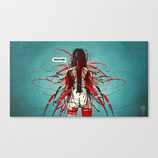 Nymph III: Exclusive Canvas Print