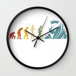 Kitesurfing Evolution Wall Clock