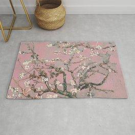 Almond Blossom - Vincent Van Gogh (pink pastel) Rug