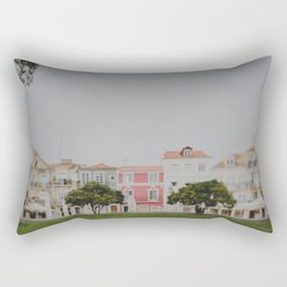 Colourful Row Rectangular Pillow