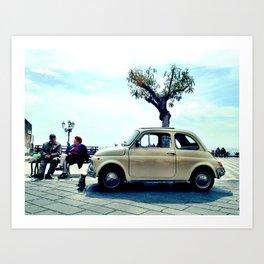 little car Art Print