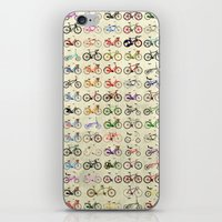 bikes iPhone & iPod Skins featuring Bikes by Wyatt Design