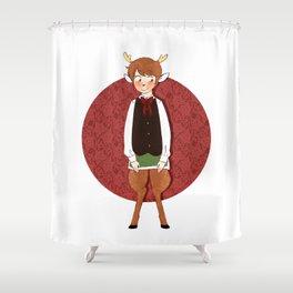 Deerboy Shower Curtain
