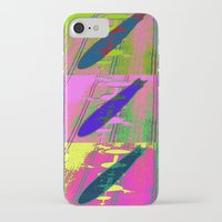 led zeppelin iPhone & iPod Cases featuring Zeppelin Warhol by Sara PixelPixie
