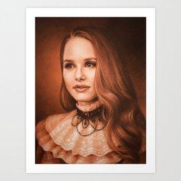 Cheryl from Riverdale Art Print