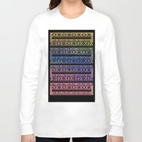 navajo Long Sleeve T-shirts featuring Navajo by Sarah Slegh