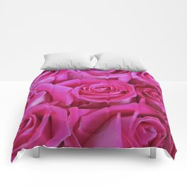 The power of pink Comforters