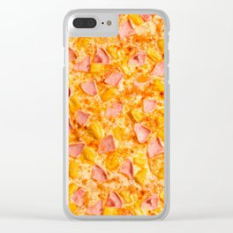 Pineapple Pizzas are People Too. Clear iPhone Case