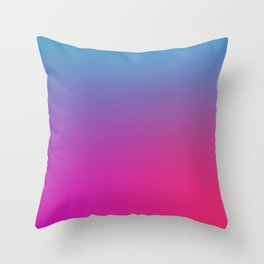 WIZARDS CURSE - Minimal Plain Soft Mood Color Blend Prints Throw Pillow