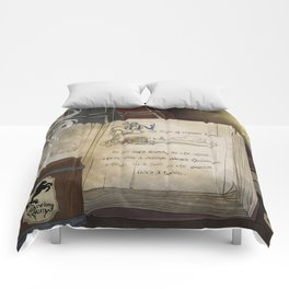There and Back Comforters