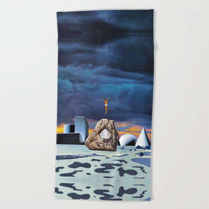Salt Seeking Salt Beach Towel
