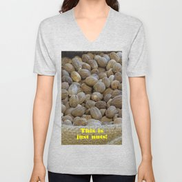 This Is Just Nuts Unisex V-Neck