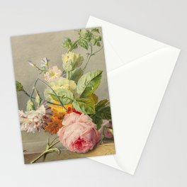 "George Jacobus Johannes van Os ""Floral Still Life"" Stationery Cards"