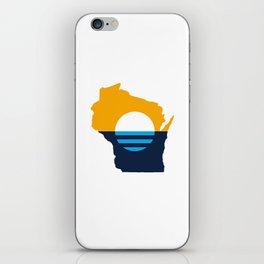 Wisconsin - People's Flag of Milwaukee iPhone Skin