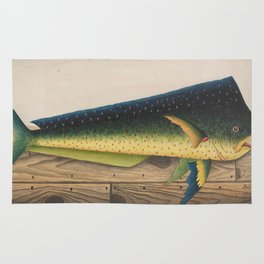 Mahi-Mahi Fish artwork Rug