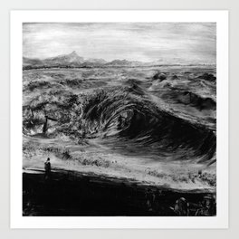 The Wreck, Byron Bay Art Print