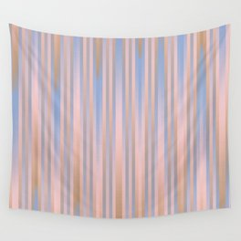 Iced Coffee Serenity Rose Quartz Pattern 2 Wall Tapestry