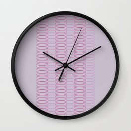 Oh, Ovals Wall Clock