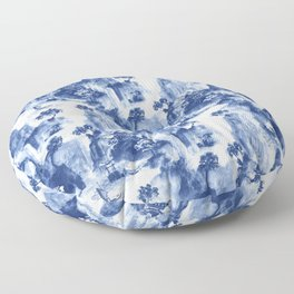 Japanese landscape Floor Pillow