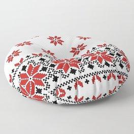 Ukrainian Pattern 2 Floor Pillow