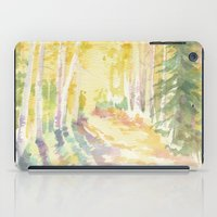 forrest iPad Cases featuring Forrest by Susie McColgan