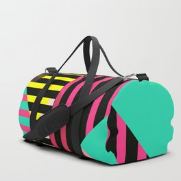 Striped 2 by Kimberly J Graphics Duffle Bag