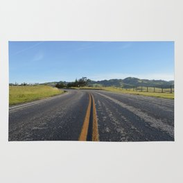 CA Road Rug