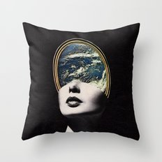 World in your mind Throw Pillow