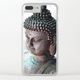 Looking For Buddha 32 Clear iPhone Case