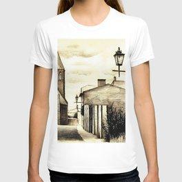THE GOTHIC STREET IN A POLISH CITY HELMNO T-shirt