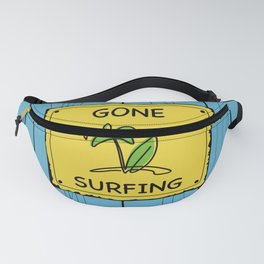 Gone Surfing Fanny Pack