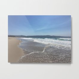 California Ocean Metal Print