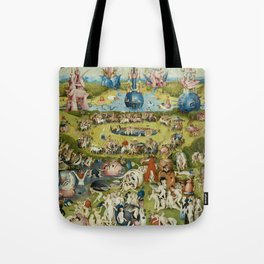 The Garden of Earthly Delights Tote Bag