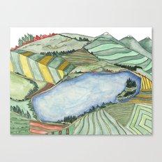 Landscape Print 2 Canvas Print