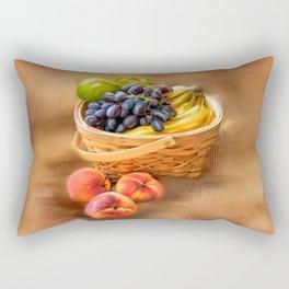 Fruit Basket Rectangular Pillow