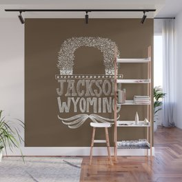 Jackson Wyoming Antler Arches Wall Mural