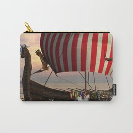The  viking longship Carry-All Pouch