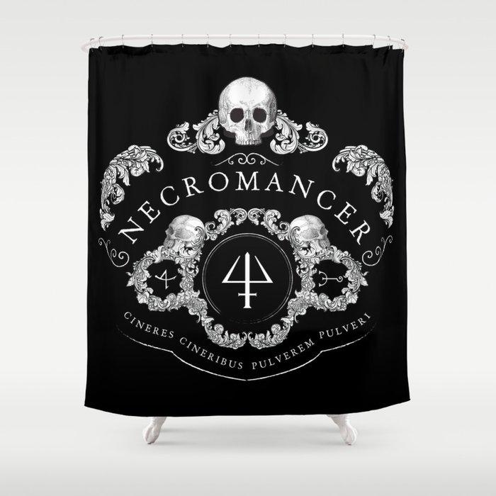 Necromancer Emblem Shower Curtain