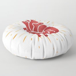 Heart Floor Pillow