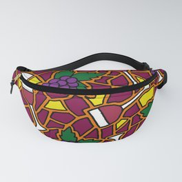 Wine Time Fanny Pack