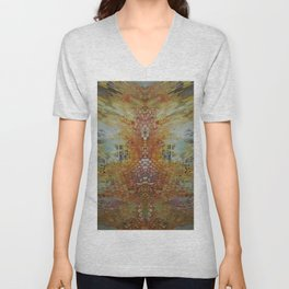 Tree cathedral Unisex V-Neck