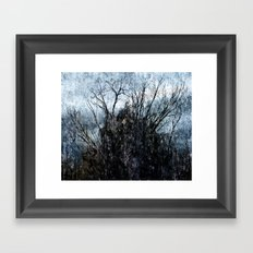 Winter thing Framed Art Print