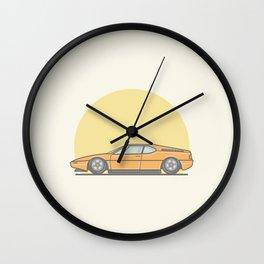 BMW M1 vector illustration Wall Clock