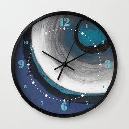Sapphire Nine Wall Clock