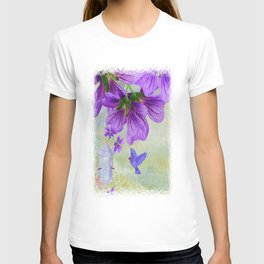 Purple Cranesbill T-shirt