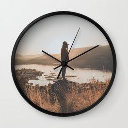 Micaela X Wall Clock