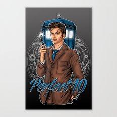 Perfect 10 Canvas Print