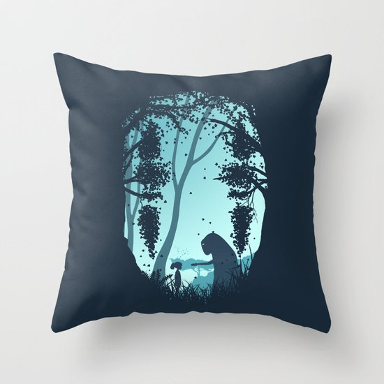 Lonely Spirit Throw Pillow